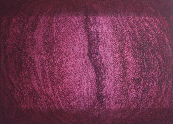 Inside Out, 2001. Oil on canvas. 130x184cm ©Lola Frost