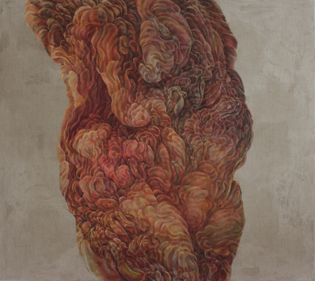 Venus, 2013, Oil on canvas. 148 x 139cm © Lola Frost